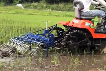 簡単に無農薬米ができる機械
