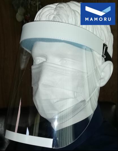 日本製フェイスシールドが誕生