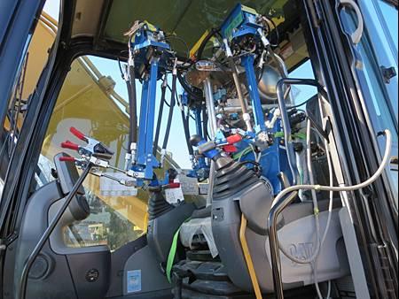 林業ロボット実証試験を開始